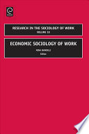 Economic Sociology of Work