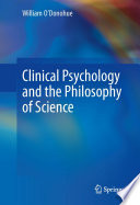 Clinical Psychology and the Philosophy of Science