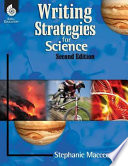 Writing Strategies for Science Scientific Thinking Skills This 2nd