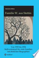 Familie W Aus Stettin