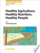 Healthy Agriculture  Healthy Nutrition  Healthy People