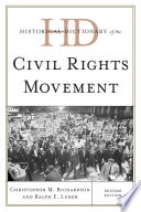 Historical Dictionary of the Civil Rights Movement