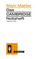 Das Cambridge Notizheft