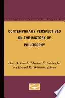 Contemporary Perspectives on the History of Philosophy