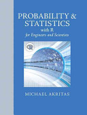 Probability   Statistics with R for Engineers and Scientists