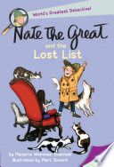 Poster for Nate the Great and the Lost List