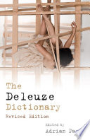 Deleuze Dictionary Revised Edition