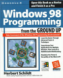 Windows 98 Programming from the Ground Up