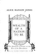 Wealth of a nation to be