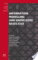 Information Modelling And Knowledge Bases Xxx