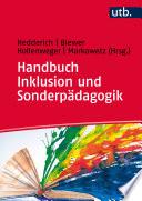 Handbuch Inklusion und Sonderp  dagogik
