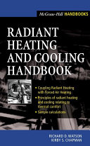 Radiant Heating and Cooling Handbook