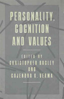 Personality Cognition And Values