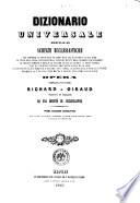 Dizionario universale delle scienze ecclesiastiche che comprende la storia della religione     opera compilata dai padri Richard e Giraud