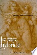 Le texte hybride