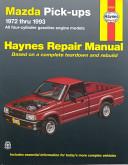 Mazda B1600 Pickups 1972 1993