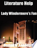 Literature Help  Lady Windermere s Fan