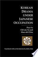 Ebook Korean Drama Under Japanese Occupation Epub Chʻi-jin Yu,Man-sik Ch'ae,Jinhee Kim Apps Read Mobile