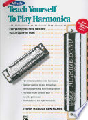 Alfred S Teach Yourself To Play Harmonica Everything You Need To Know To Start Playing Now Book Harmonica