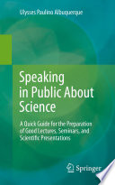 Speaking in Public About Science