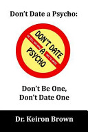 Don T Date A Psycho