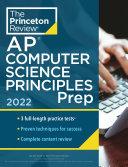 Princeton Review Ap Computer Science Principles Prep 2022