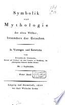 Symbolik und Mythologie der alten V  lker