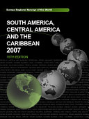 South America  Central America and the Caribbean