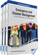 Emergency And Disaster Management Concepts Methodologies Tools And Applications