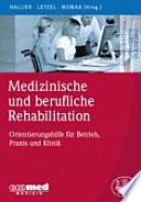 Medizinische und berufliche Rehabilitation