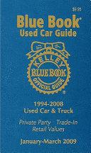 Kelley Blue Book Used Car Guide  1994 2008 Models