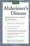 Alzheimer s Disease  Frequently Asked Questions