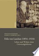 Felix von Luschan (1854-1924)