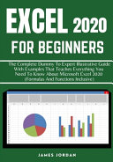 Excel 2020 For Beginners