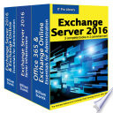 Exchange Server 2016  IT Pro Library