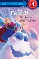 Big Snowman  Little Snowman