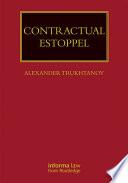 Contractual Estoppel