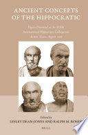 Ancient Concepts of the Hippocratic