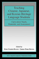 Teaching Chinese  Japanese  and Korean heritage language students