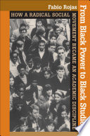 From Black Power to Black Studies