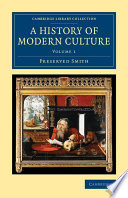 A History of Modern Culture