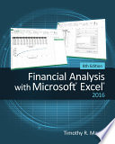 Financial Analysis with Microsoft Excel 2016  8E