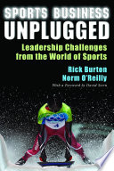 Sports Business Unplugged : and o'reilly has graced the pages...