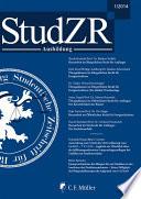 Studentische Zeitschrift für Rechtswissenschaft Heidelberg