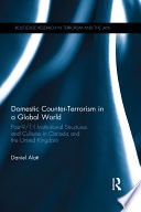 Domestic Counter Terrorism in a Global World