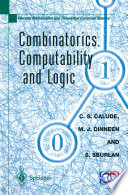 Combinatorics  Computability and Logic
