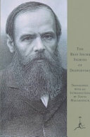 The Best Short Stories of Dostoevsky Expression With A Phonetic Pronunciation