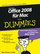 Office 2008 f  r Mac f  r Dummies