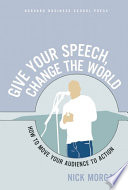 Give Your Speech  Change the World