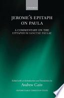 Jerome's Epitaph on Paula
